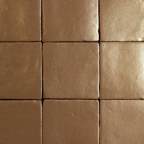 SAM Azulejos Metalizado Bronze