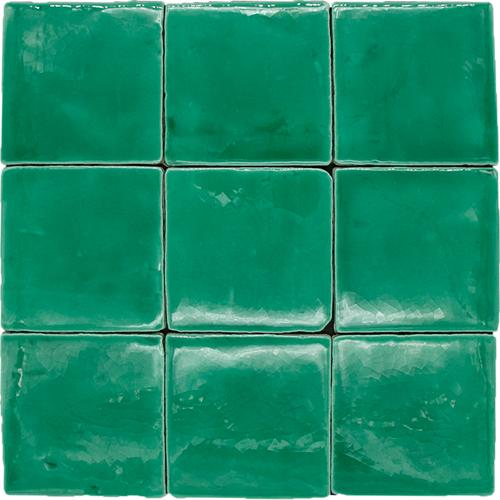 SAM Azulejos Verde T-4