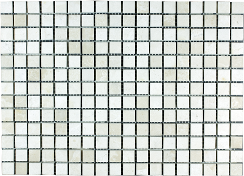 Mosaic Border Plain Bottocino