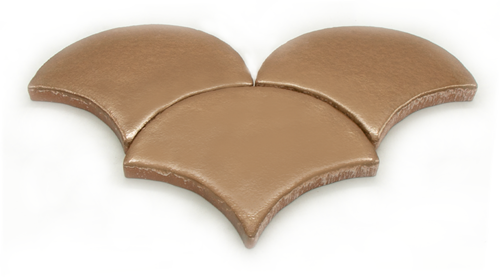 SAM Escama Metalizado Bronze