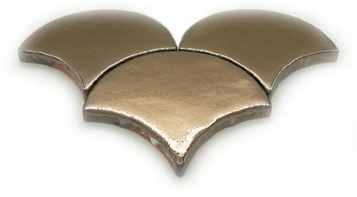 SAM Escama Metalizado Gold