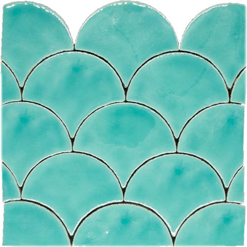 Escama Verde Azulado
