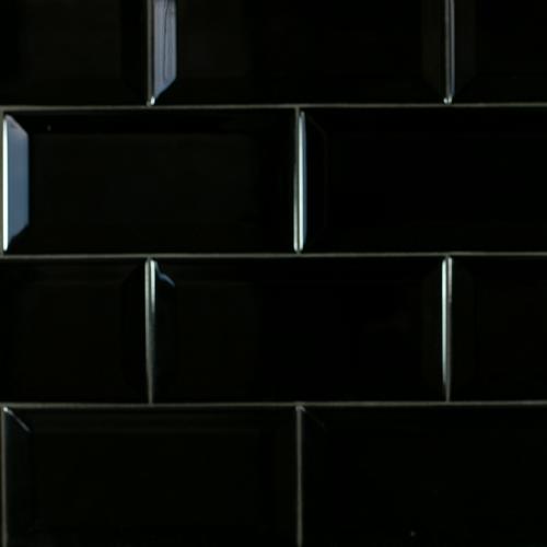 SAM Metro Biselado Negro