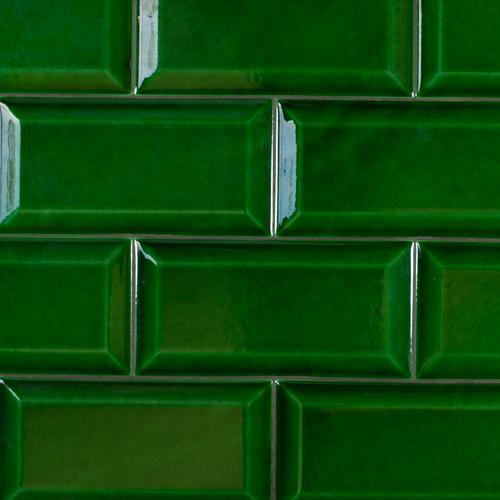 Metro Biselado Verde Cobre