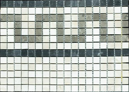 Mosaic Border Half Pattern Bottocino