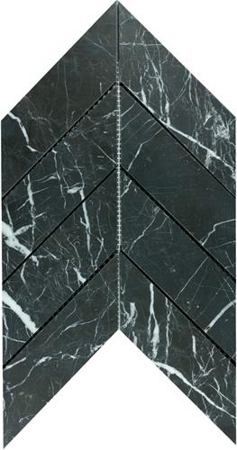 SAM Mosaic Chevron Large Toros Black