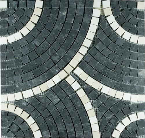 SAM Mosaic Circle Toros Black
