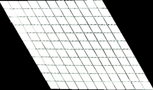 SAM Mosaic Diamond Dolomit White