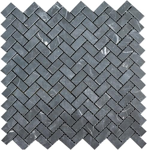 Mosaic Herringbone Toros Black