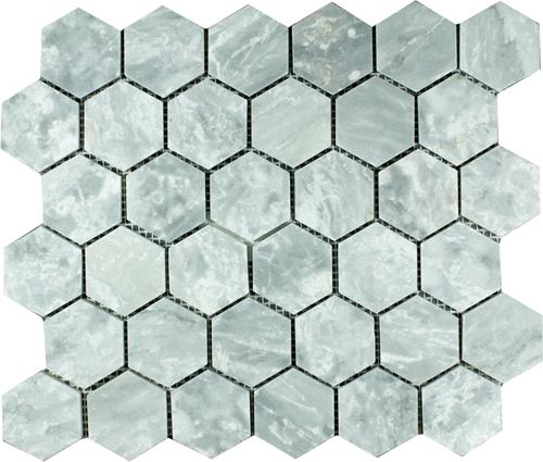SAM Mosaic Hexagon Plain Silver Shadow BIG