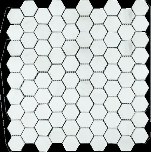 Mosaic Hexagon Plain Dolomit