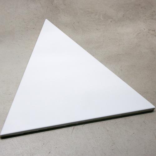 SAM Piso Triangle Ice White