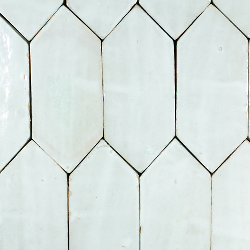 SAM Platta Blanc Art Deco