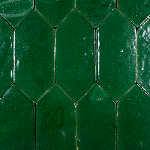 Platta Vert Foncee Art Deco