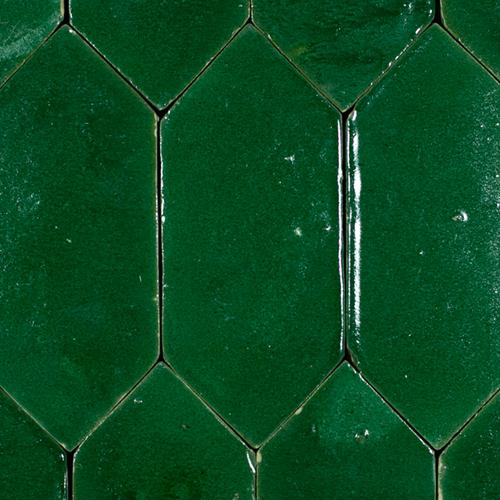 SAM Platta Vert Foncee Art Deco