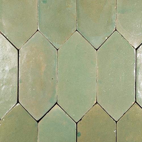 Platta Vert Gris Foncee Art Deco