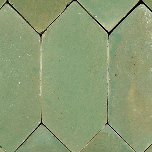 SAM Platta Vert Gris Foncee Art Deco