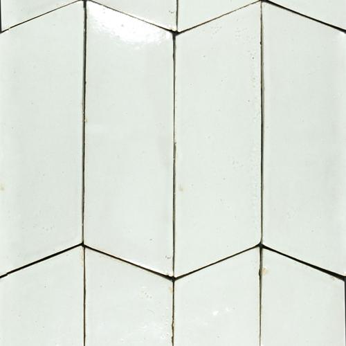 Platta Chevron Blanc