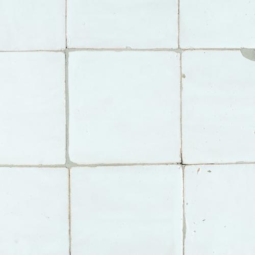 Platta Neige Blanc 10x10cm