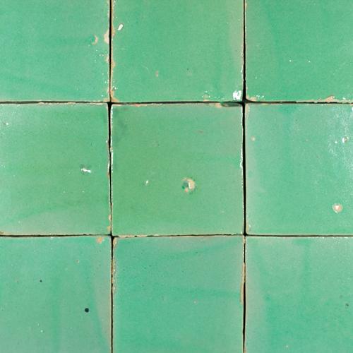 Platta Turquoise 13x13cm