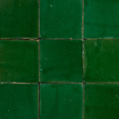Platta Vert Foncee 13x13cm