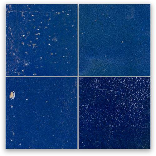 Zellige Bleu Foncee 10x10cm