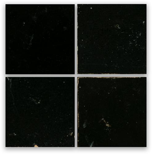 SAM Zellige Noir 10x10cm