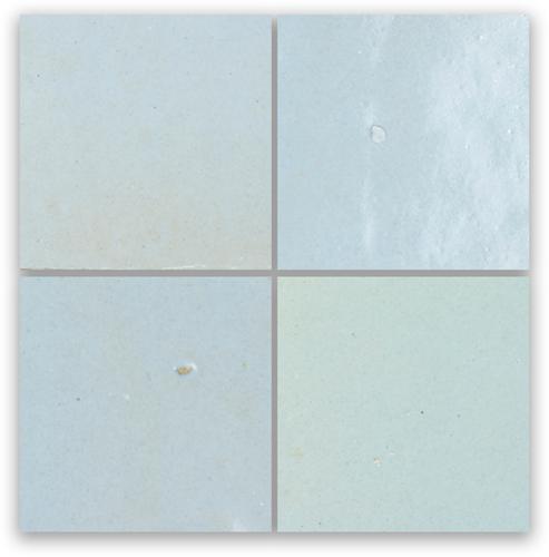 Zellige Pastel Bleu 10x10cm
