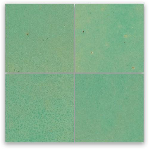 SAM Zellige Turquoise 10x10cm