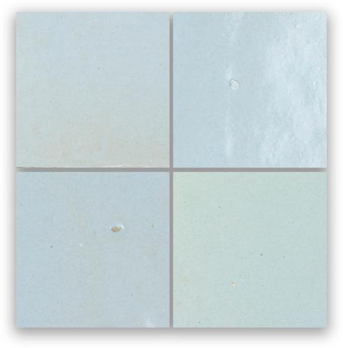 Zellige Pastel Bleu 5x5cm