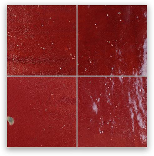 Zellige Bordeaux Rouge 5x5cm