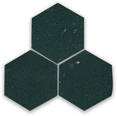 SAM Zellige Charcoal Hexagone