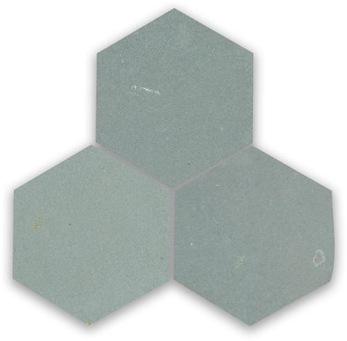 Zellige Ciment Hexagone