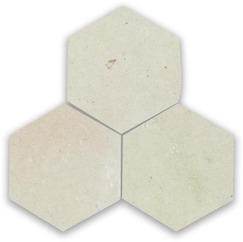Zellige Ecru Hexagone