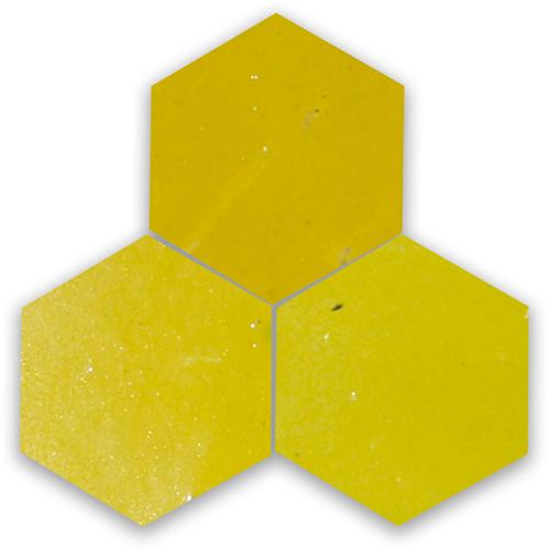 Zellige Jaune Hexagone
