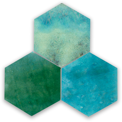 Zellige Jean Hexagone