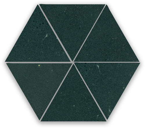 Zellige Charcoal Triangle
