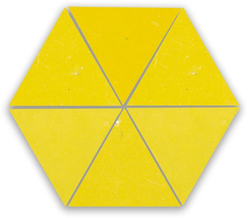 Zellige Citron Triangle
