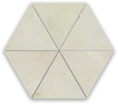 SAM Zellige Ecru Triangle
