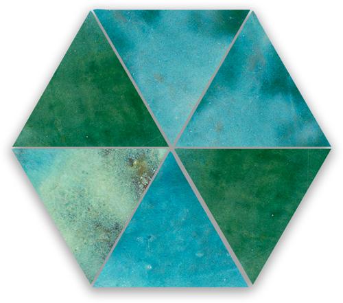 Zellige Jean Triangle