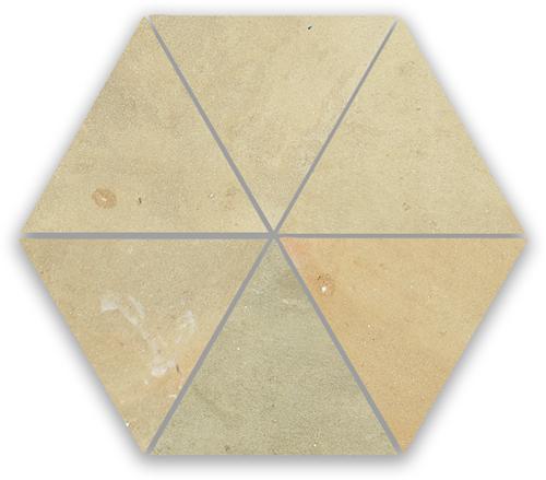 Zellige Naturel Triangle