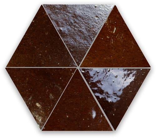 SAM Zellige Marron Triangle