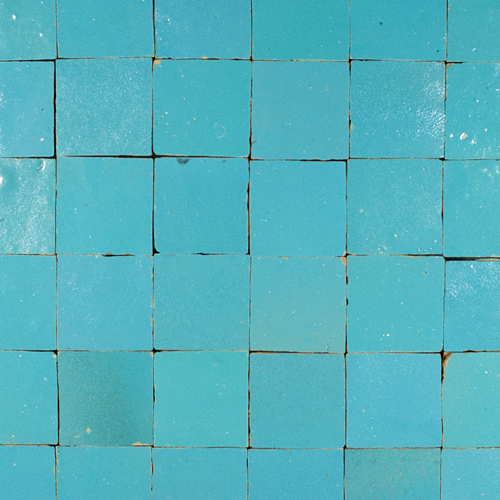 Zellige Bleu Ciel 5x5cm