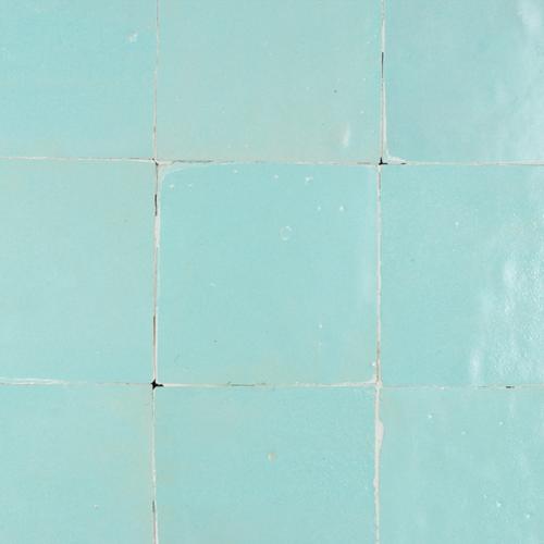 Zellige Bleu Celeste Mat 10x10cm