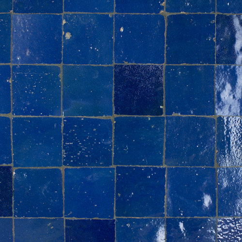 Zellige Bleu Foncee 5x5cm