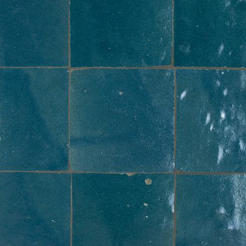 SAM Zellige Bleu Marine 10x10cm