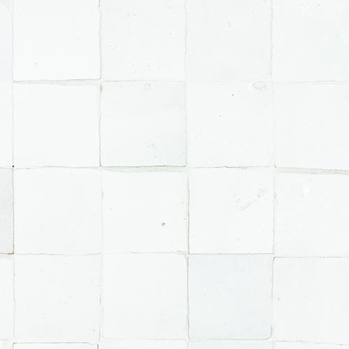 Zellige Neige Blanc 5x5cm