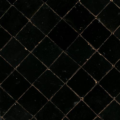 Zellige Noir 5x5cm
