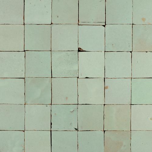 Zellige Vert Clair 5x5cm