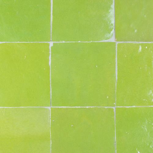 Zellige Vert Olive 10x10cm